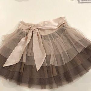 NWT Stella McCartney ruffled tulle skirt.